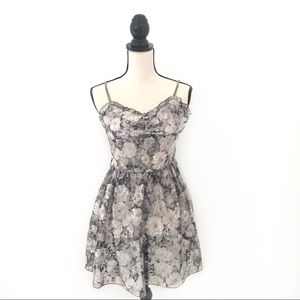 Zara Night Collection Lace Cocktail Dress Size S